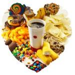 junk food heart ADJ