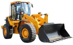 bulldozer flipped