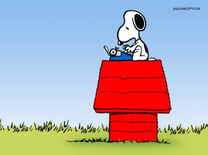 05-Peanuts-Snoopy Typing FREE