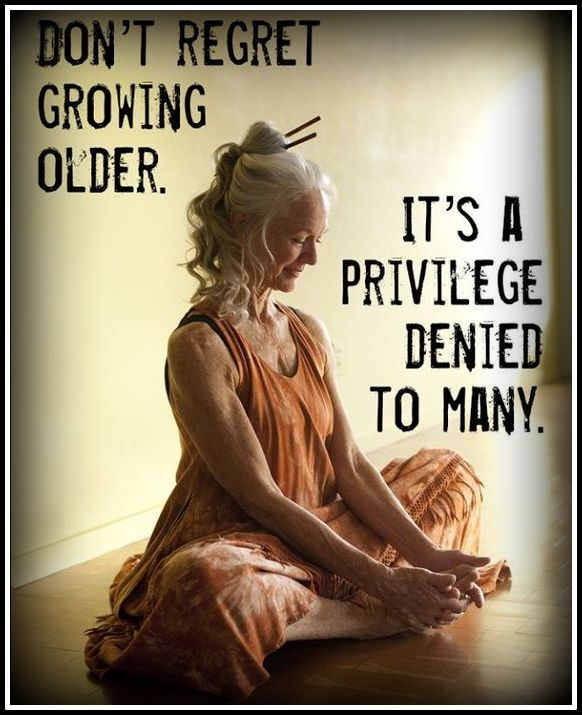 growing older border