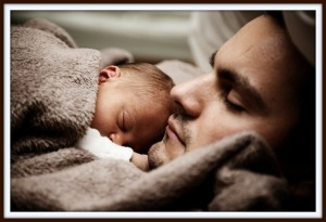 Father and Newborn