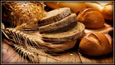 bread wallpaper border