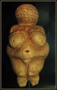The Venus of Willendorf, Credit: Don Hitchcock [click image for website]