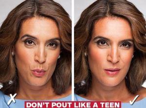 don't pout